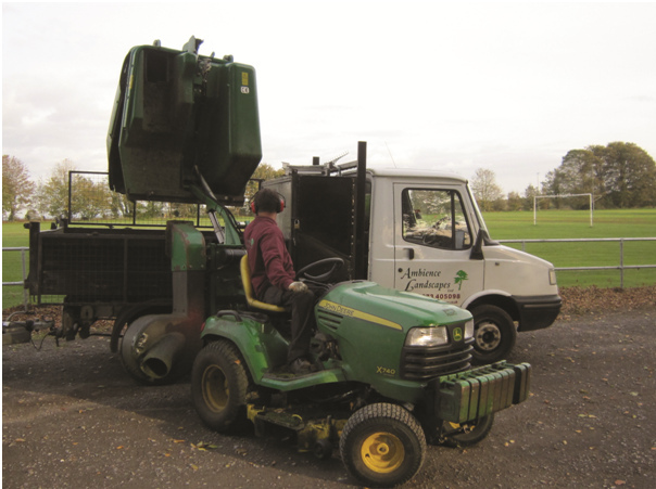 Specialised garden machinery
